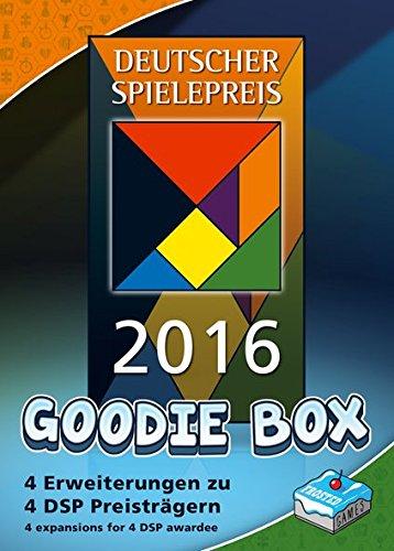 Frosted Games FRG00006 Deutscher Spielepreis 2016 Goodie Box Board Game -