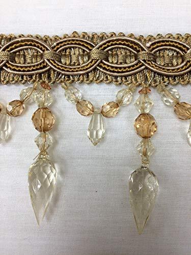Gold Beaded Tassel - 4