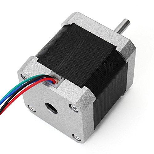 42mm Zwei Phasen 0,9 Grad Hybrid Schrittmotor 48mm Länge 1,5A Für CNC Router 3D-Drucker-Teile und Zubehör