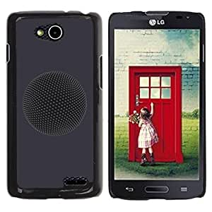 Be Good Phone Accessory // Dura Cáscara cubierta Protectora Caso Carcasa Funda de Protección para LG OPTIMUS L90 / D415 // Planet