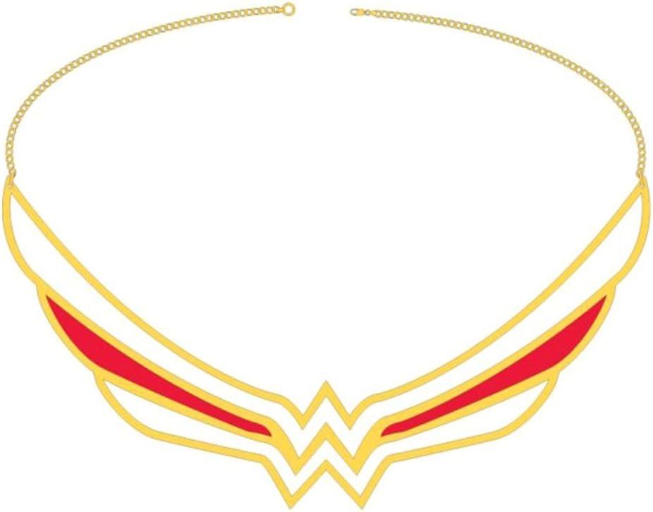 DC Comics cuello disfraz de Wonder Woman Collar con colgante en ...