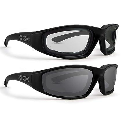 Amazon.com: Epoch - 2 pares de gafas de sol acolchadas de ...