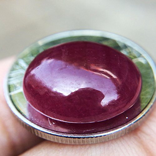 10.85ct Natural Cabochon Unheated Red Ruby Madagascar #B by Lovemom (Image #4)