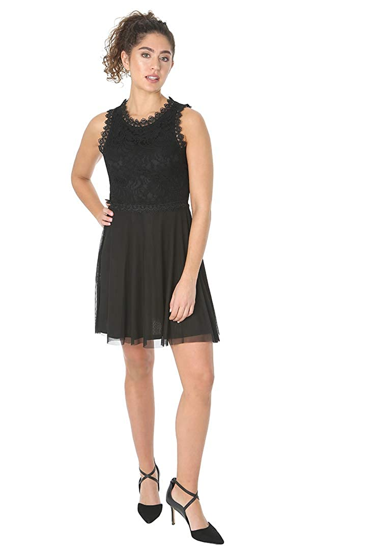 JUMP Womens Floral Lace Party Dress