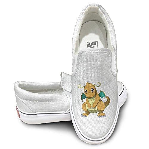 cute-dragonite-dragon-claw-fashion-slip-on-canvas-sneakers-43-white