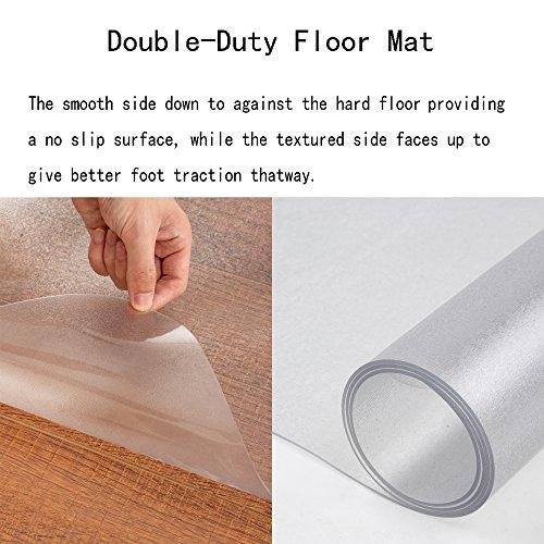 SHAREWIN Chair Mat for Hard Wood Floors - 36''x47'' Heavy Duty Floor Protector - Easy Clean  by SHAREWIN (Image #1)