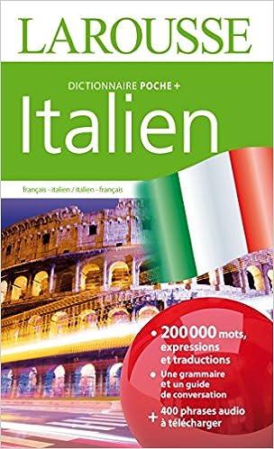 Amazon Fr Dictionnaire Larousse Poche Plus Italien