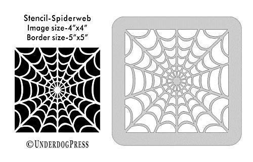 Large Stencil - Spiderweb