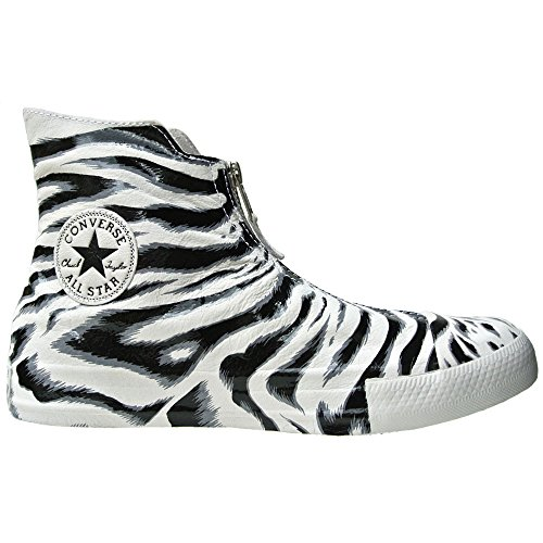 Converse Schuhe All Star Klauwplaten Leder Uk 5,5 Eu 38 Wit Zwart Limited Edition Leder Zebra 550.854