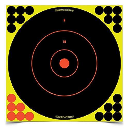 SHOOT-N-C 12 Inch Bullseye Targets -  50 Count Pack With 1,200 - 12 N Shoot C Target