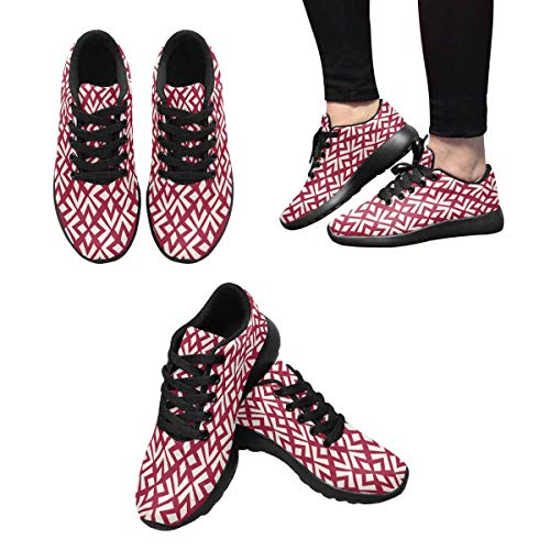 10 Sneakers InterestPrint Jogging Shoes Women's Casual Multi Lightweight Running 8n84FWqc