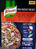 Knorr One Skillet Meal Southwestern Chicken Brown Rice & Quinoa Meal Starter 1-Package NET WT 4.9 OZ