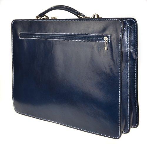 Bags4Less Mondial - Bolsa para portátil Unisex adulto azul - rayas