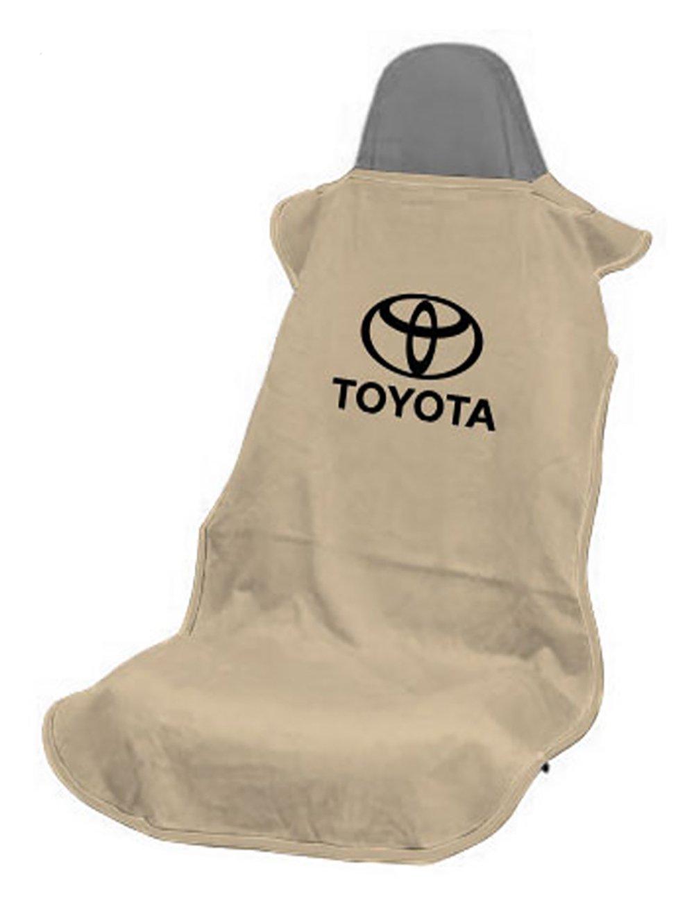 Seat Armour SA100TOYB Black 'Toyota' Seat Protector Towel