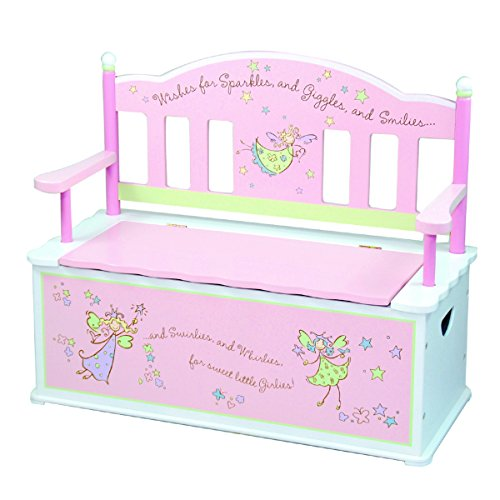 Levels of Discovery Fairy Wishes Bench Seat w/ Storage by Levels Of Discovery /Generic