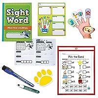 Mr. E=mc2 Homeschool Learning Games for Kids Reading | Preschool, Pre K PreK, Kindergarten, 1st Grade | Sight Words Workbook Alphabet ABC Story Comprehension Phonics Handwriting | Learn How to Read