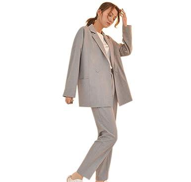 fc08b634ce549 パンツ スーツ レディース セットアップ スリム ズボン レジャー スーツ 通勤 事務服 結婚式 ビジネス用 面接
