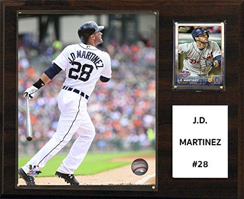 C&I Collectables MLB Detroit Tigers J.D. Martinez Player Plaque, 12