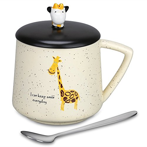 Coffee Mug Gifts for Mom Cute 3D Giraffe Mugs Funny Ceramic