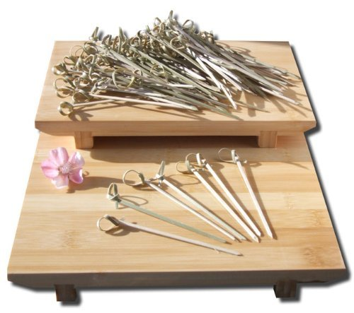 Cóctel Palillos De Bambú Estilo Japonés