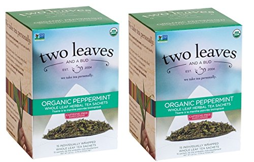 (Two Leaves And A Bud Peppermint Tea 30 Count (Pack of 2))