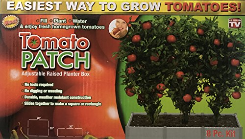 Tomato Patch- Adjustable Raised Planter Box