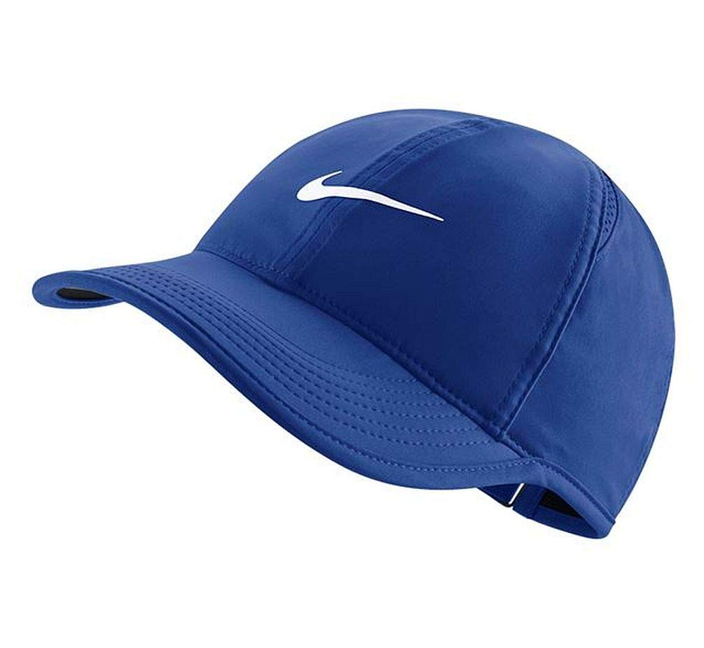 Nike Women's Featherlight Cap One Size (Game Royal/Black)