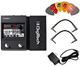 Digitech Element XP Multi-Effects Pedal Bundle with 9V Power Supply, 2 Patch Cables, and 6 Assorted Dunlop Picks