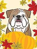 Cheap Caroline's Treasures BB2025GF English Bulldog Thanksgiving Garden Flag, Small, Multicolor