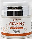 goPure Face Moisturizer with Vitamin C, All Day Anti Wrinkle Facial Moisturizing Cream, 1.7 ounces