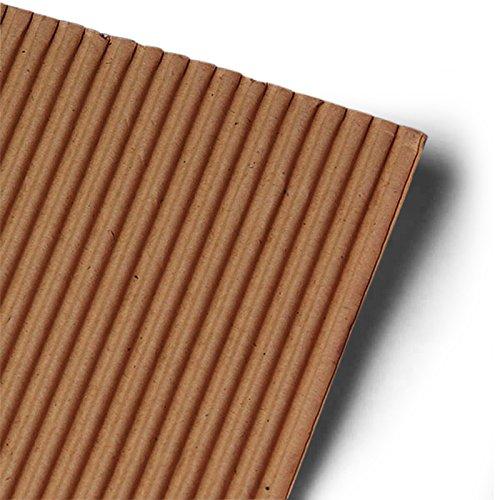 Single Face Corrugated Cardboard 8 X 11 | Quantity: 100 Width 11