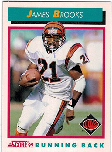 - 1992 Score Cincinnati Bengals Team Set with Anthony Munoz & James Brooks - 15 NFL Cards