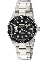 Invicta Womens Character Collection Automatic Stainless Steel Casual Watch, Color:Silver-Toned (Model: 24793)