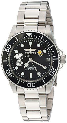Invicta Women's 'Character Collection' Automatic Stainless Steel Casual Watch, Color:Silver-Toned (Model: 24793)