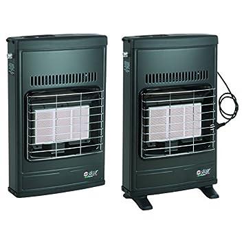 Stufa a gas metano ventilata condizionatore manuale - Stufe a metano ventilate ...