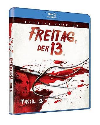 Freitag Der 13 Teil 3 Blu Ray Special Edition Fsk18 Amazonde
