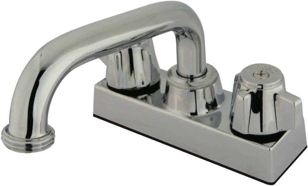 Kingston Brass KB471 Laundry Tray Faucet, Polished Chrome