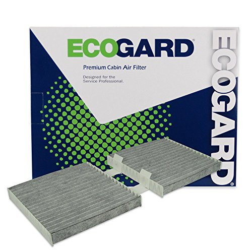 ECOGARD XC10012C Cabin Air Filter with Activated Carbon Odor Eliminator - Premium Replacement Fits BMW X3, X4
