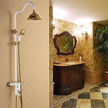 Caribou@Bathroom Shower System Shower Head & Handheld Shower Head ...