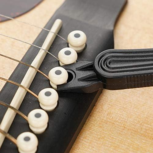 Miwayer Guitar String Winder 3 IN 1String Peg Winder + String Cutter + Pin Puller Instrument Guitar Maintenance Tool Repair Tool