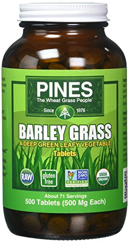 (Pines International Barley Grass Tablets, 500 Count)