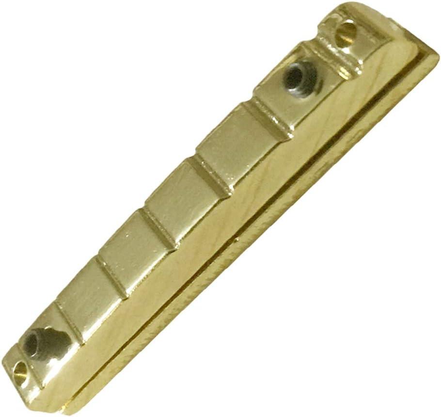 1 x Tuerco de Puente para Guitarra Eléctrica Altura Regulable 7 Cuerdas para Principiantes Producción Instrumentos Musicales
