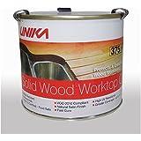 Unika Kitchen Wood Worktop Oil Clear Satin - 1 Litre Tin