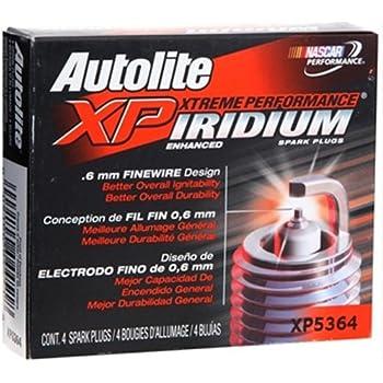 Autolite XP5364-4PK Iridium XP Spark Plug, Pack of 4