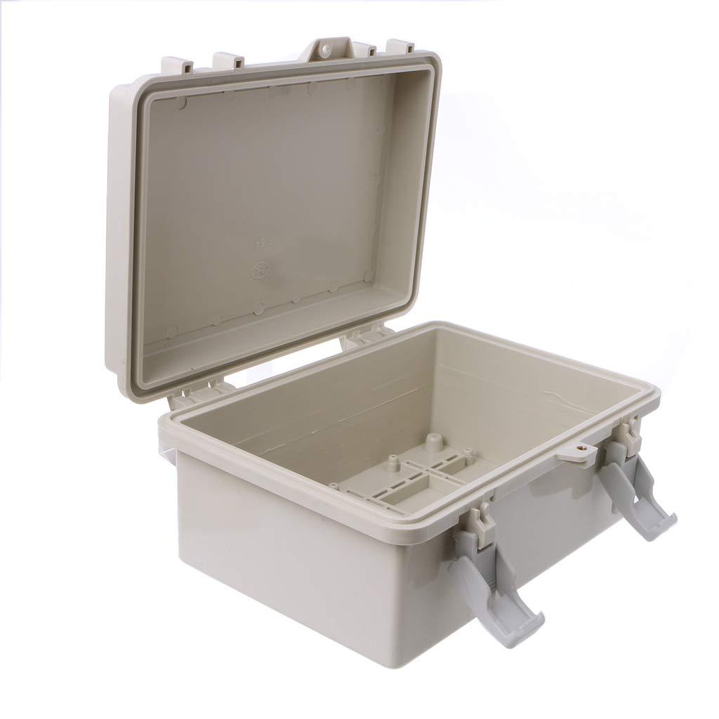 1 Yajiun Bo/îtes de Jonction Etanche,IP65 Connexion Etanche,ABS Plastique 6240x170x110mm
