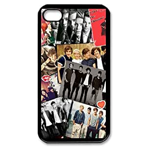 One Direction for iPhone 4,4S Cell Phone Case & Custom Phone Case Cover R37A650478