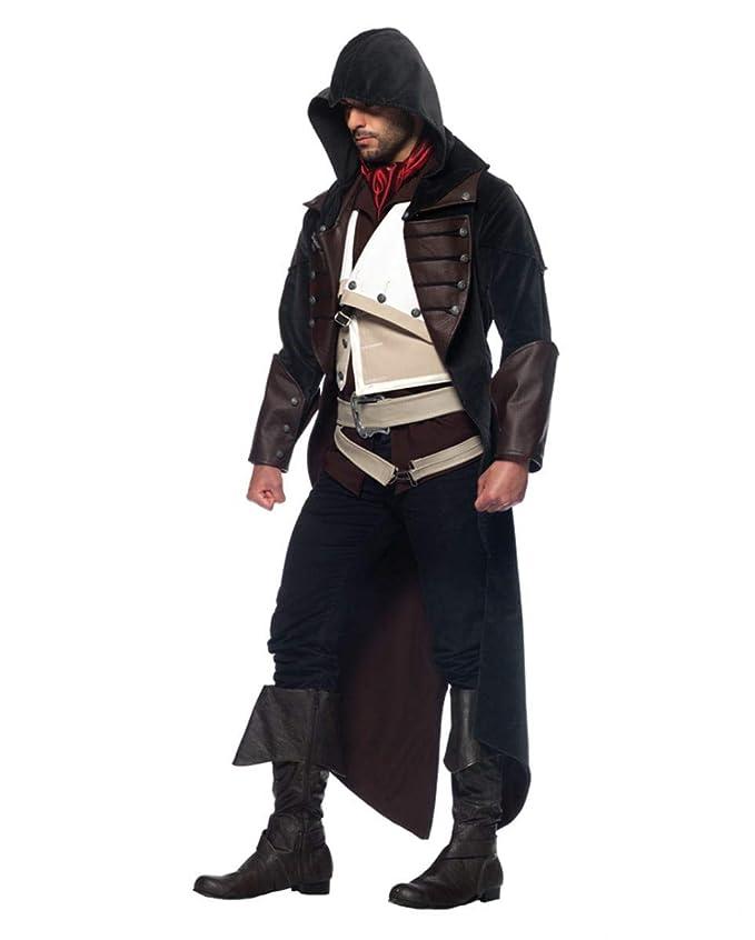 Horror-Shop Assassins Creed Arno vestuario S: Amazon.es ...
