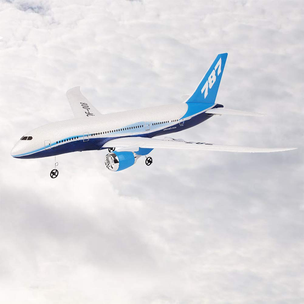 ompait QF008-Boeing 787 550mm Wingspan 2.4GHz 3CH EPP RC Airplane Fixed Wing RTF Scale Aeromodelling 1pc Battery