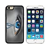 Liili Premium Apple iPhone 6 iPhone 6S Aluminum Backplate Bumper Snap Case iPhone6 IMAGE ID: 12353991 Child abuse with the eye of a young boy or girl with a single tear crying due to the fear of viole