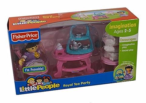 Fisher-Price World of Little People Sonya Lee and Her Royal Tea Party (Little People Sonya Lee)